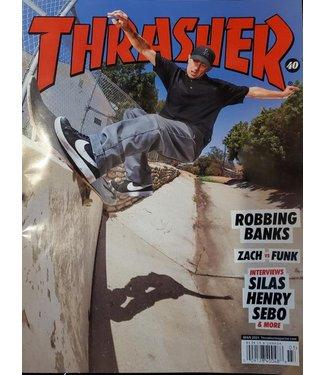 Thrasher magazine March 2021
