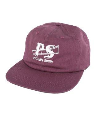 Picture Show Picture Show STUDIO Snapback Hat Plum