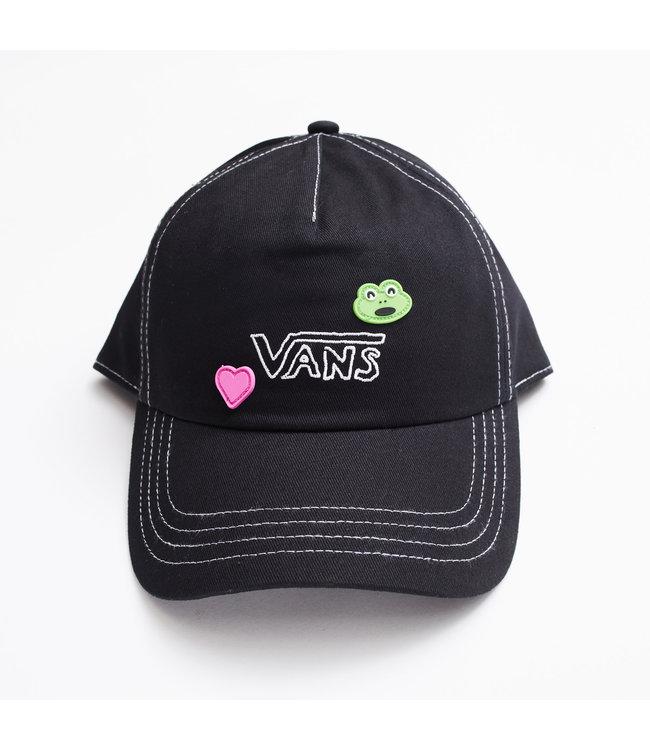 VANS WM VANS X FROG HAT (FROG)  BLACK
