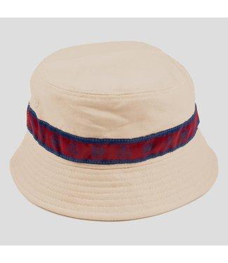 Passport Hat  Natural L.L RIBBON BUCKET HAT