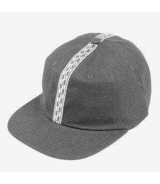 Passport Hat  Black AUTO RIBBON 6 PANEL CAP