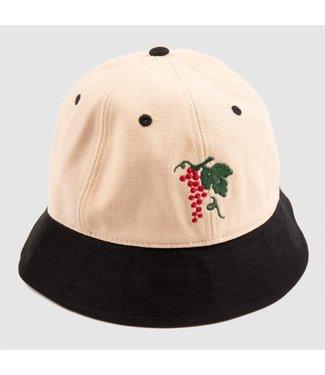 Passport Hat  Black/Natural LIFE OF LEISURE 6 BUCKET HAT
