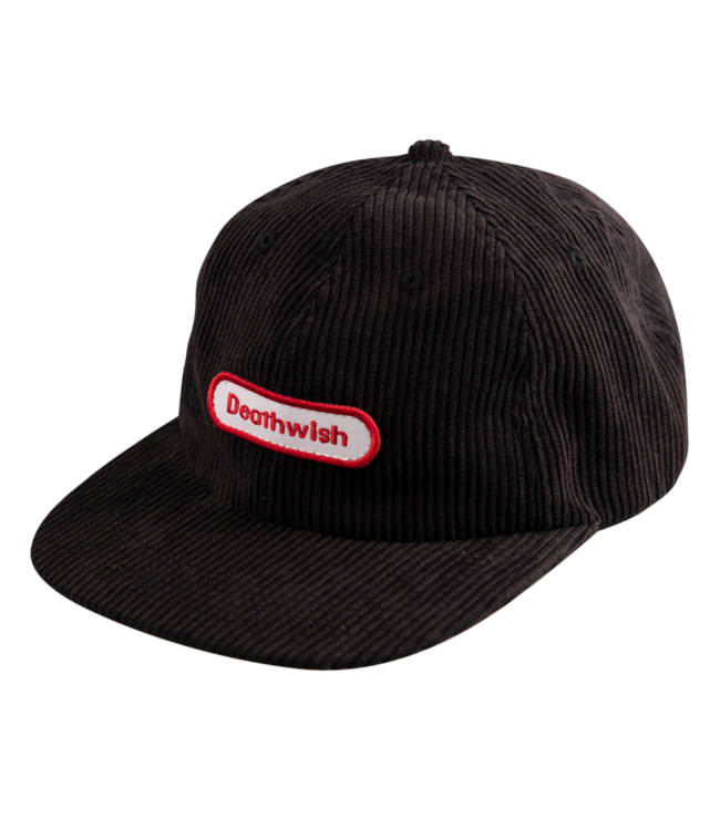 Deathwish Game Time BLK Cord Snapback
