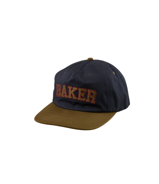 Baker Oscar Navy/Grn Snapback