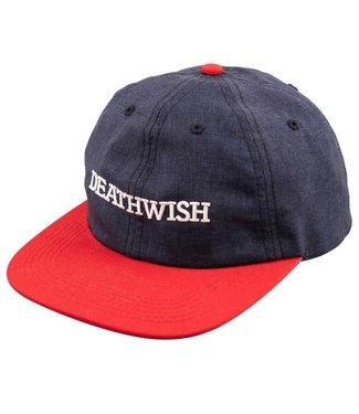 Deathwish Snapback  Antidote Navy/Red