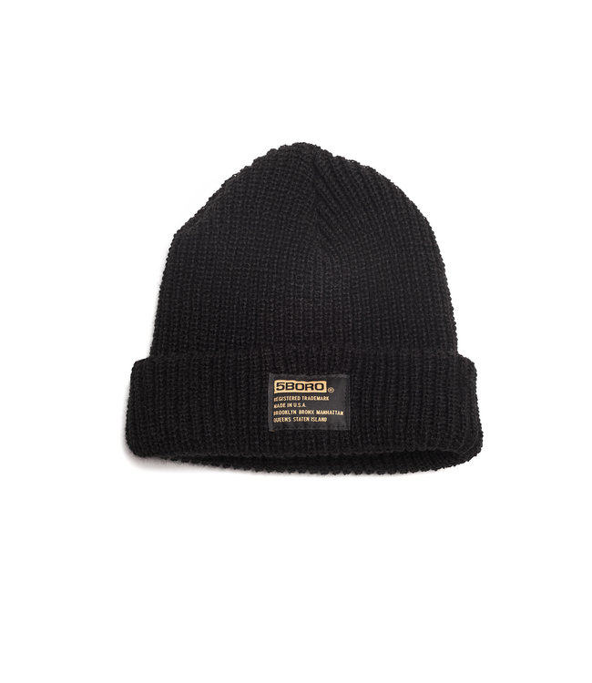 5Boro 5B Tactical Beanie - Low Fit (Above Ear) Black