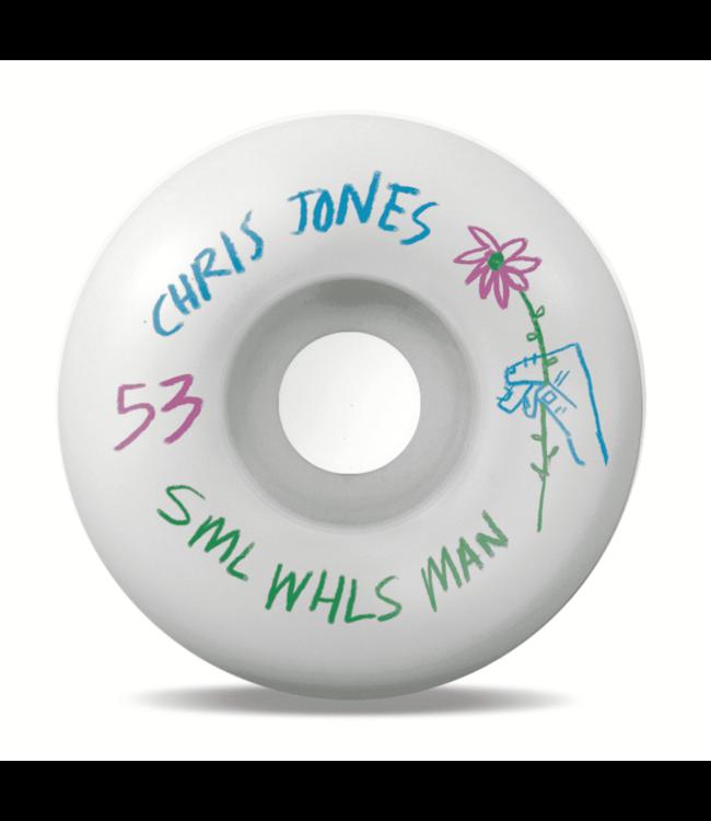 SML Wheels  Pencil Pusher - Chris Jones OG Wide 99a - Chris Jones 53 mm