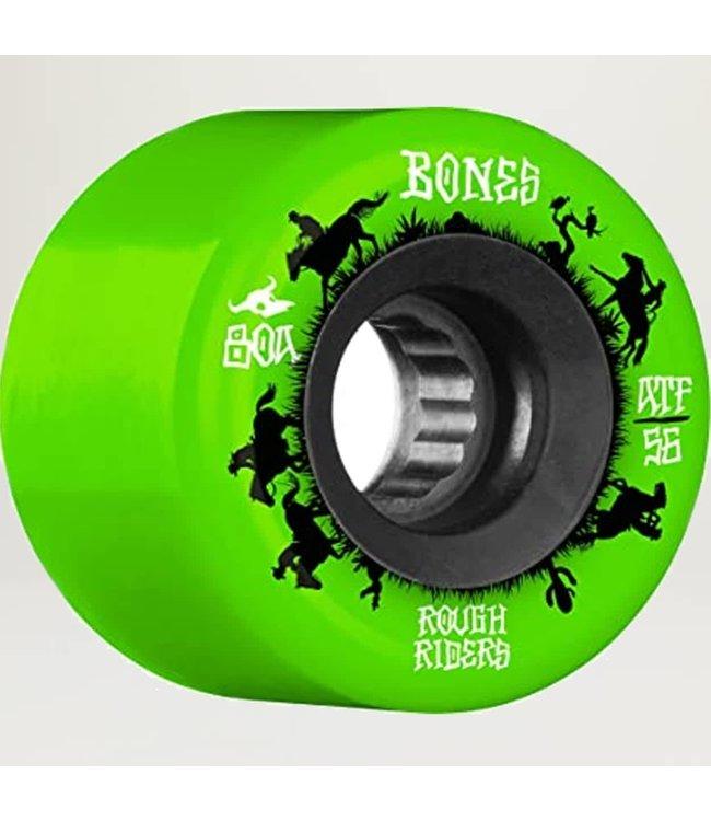 BONES Rough Rider Runner Wheels  Green 56mm