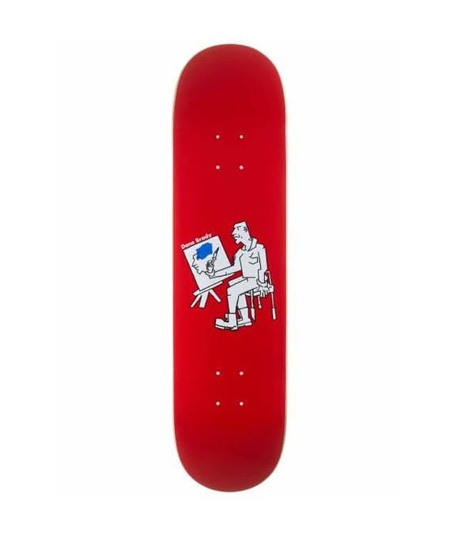 Polar Deck  DANE BRADY - Painter - Red 8.0