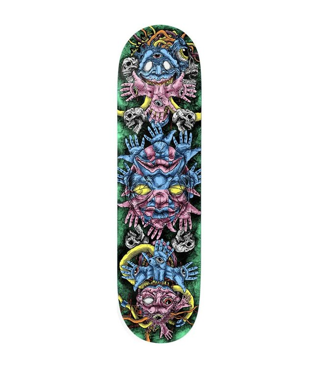 Deathwish Deck  NW Controlled Chaos Twin 8.125
