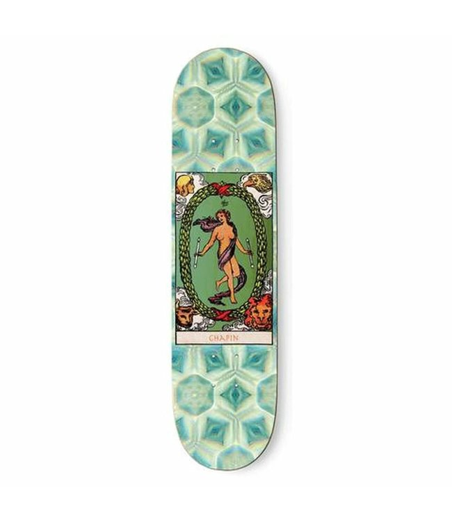"The Killing Floor Deck  LANCE CHAPIN ""THE WORLD"" DECK 8.25"