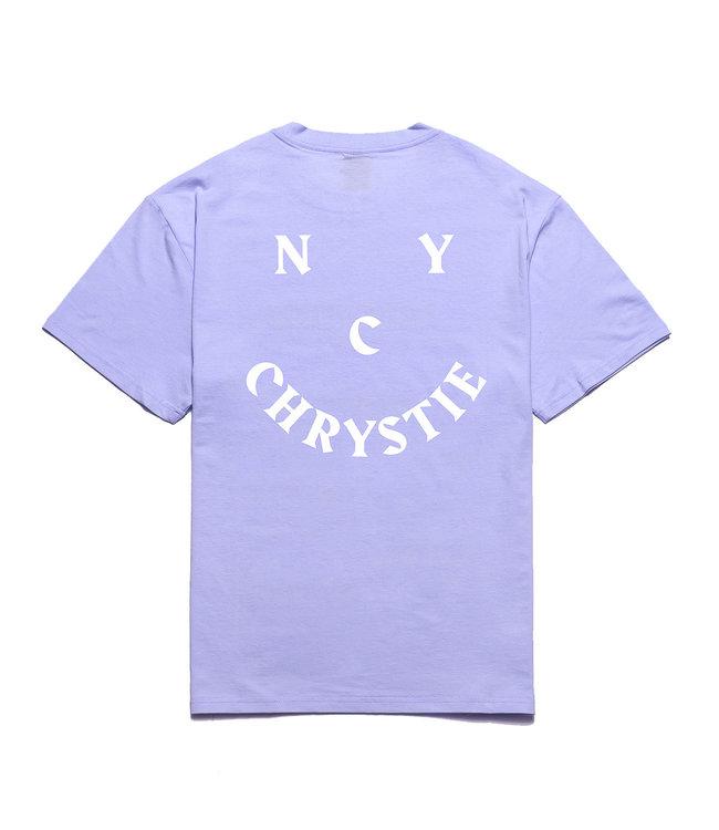 Chrystie Smile Logo T-Shirt_Lavender