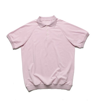 Chrystie Chrystie Classic Logo Polo T-Shirt_Pale Pink