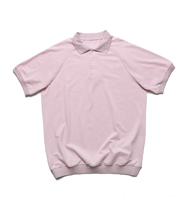 Chrystie Classic Logo Polo T-Shirt_Pale Pink