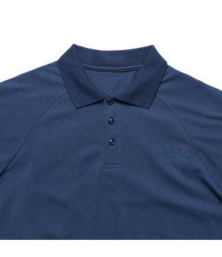 Chrystie Chrystie Classic Logo Polo T-Shirt_Navy