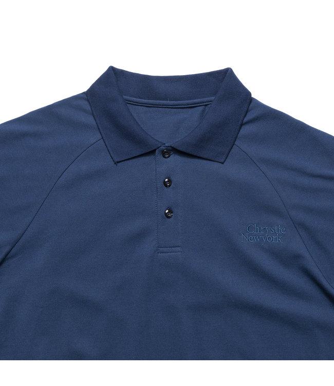 Chrystie Classic Logo Polo T-Shirt_Navy