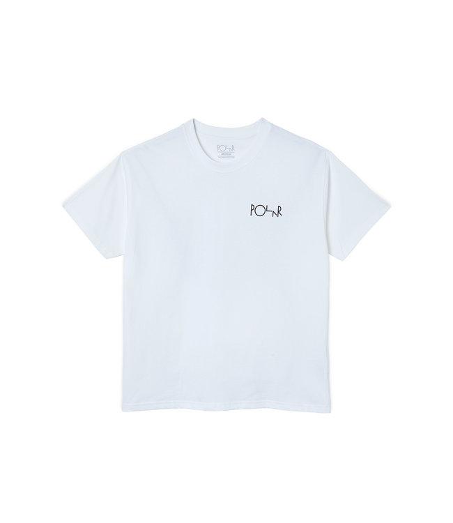 Polar Notre Dame Fill Logo Tee White