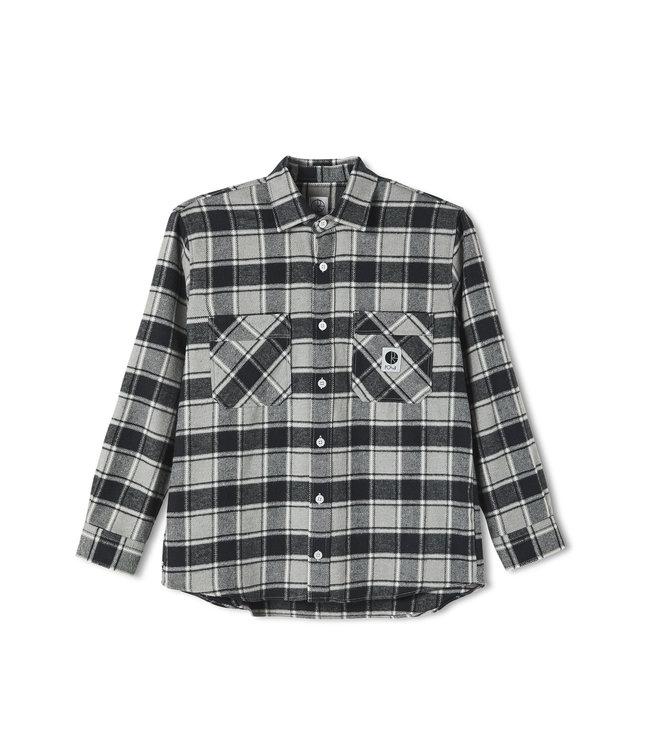 Polar Flannel Shirt Black