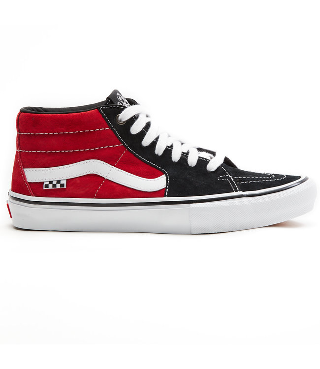 Vans  MN Skate Grosso Mid Black/Red  VN0A5FCG458