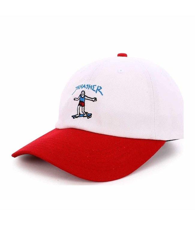 Thrasher Gonz Old Timer Hat White
