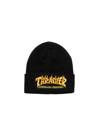 Thrasher Fire Logo Beanie