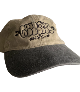 Cellie's Cellie's Dad Hat Khaki/Black