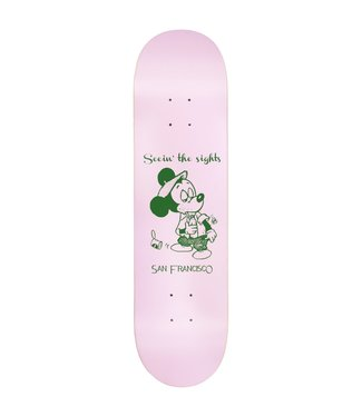 Snack Snack Skateboards Deck  Seein the Sights 8.0