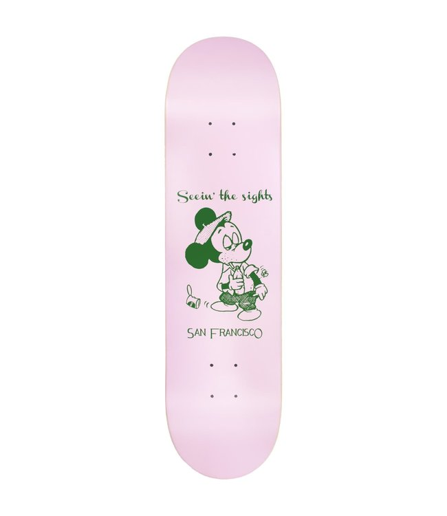 Snack Skateboards Deck  Seein the Sights 8.0
