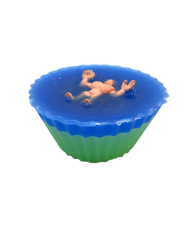 Shit4Brainz Cupcake Wax Blue/Green