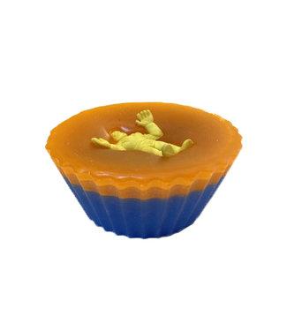 Shit4Brainz Shit4Brainz Cupcake Wax Orange/Blue