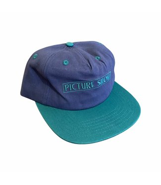 Picture Show Picture Show VHS Strapback Hat Slate/Jade