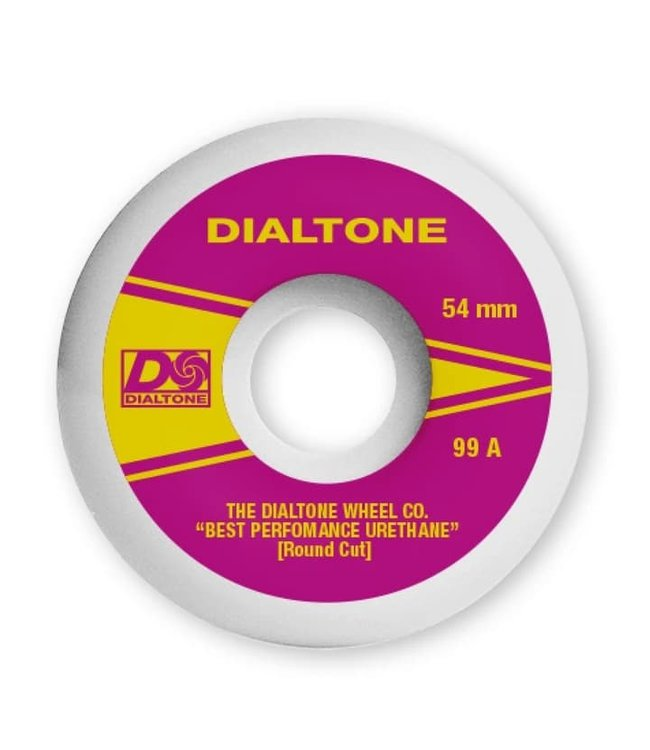 Dial Tone Wheels  ATLANTIC ROUND CUT 99A 54mm