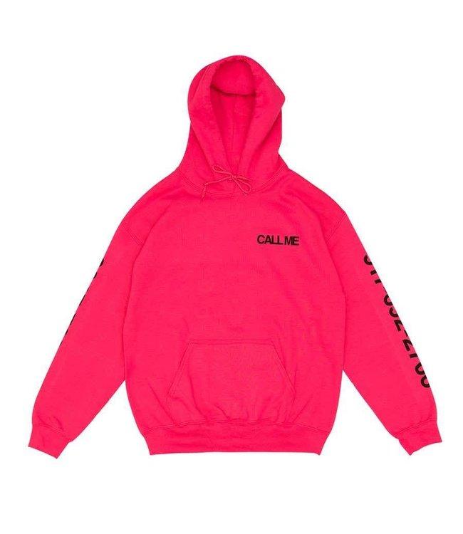 917 Eyes Dialtone Pink Hoodie