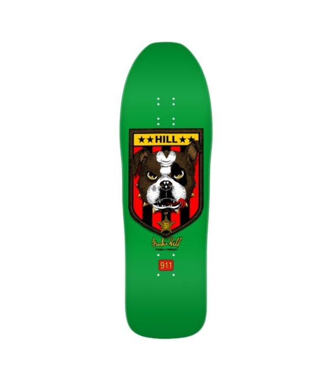 POWELL PERALTA FRANKIE HILL BULL DOG 06 GREEN 10.0