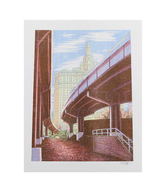 Dog Gone Studios Brooklyn Banks Print