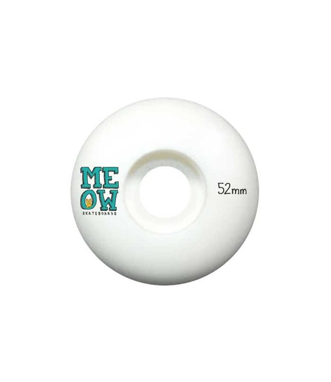 Meow Stacked Logo Wheels - 52mm