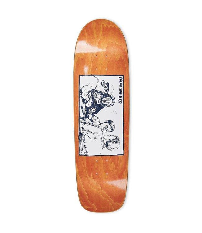 Polar deck  PAUL GRUND - Cold Streak Orange Veneer SURF JR