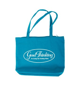 Good Thinking Good Thinking Losing It Zipper Tote Teal