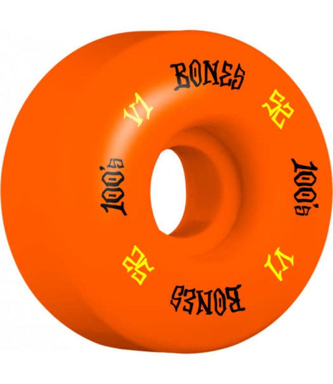 BONES 100 52 V1 STANDARD OG FORMULA ORANGE
