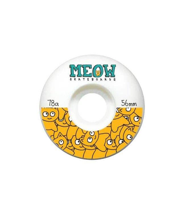 Meow Sticker Pile Split Wheels - 56mm
