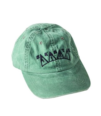 Skate Jawn Skate Jawn King Embroidered Hat green