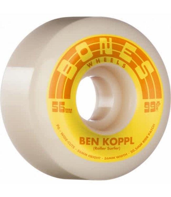 BONES STREET TECH  FORMULA KOPPL ROLLERSURFER 56 V6 WIDE-CUT  99A