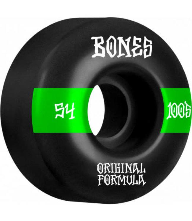 BONES 100 #14 54MM BLK O.G. FORMULA V4 WIDE