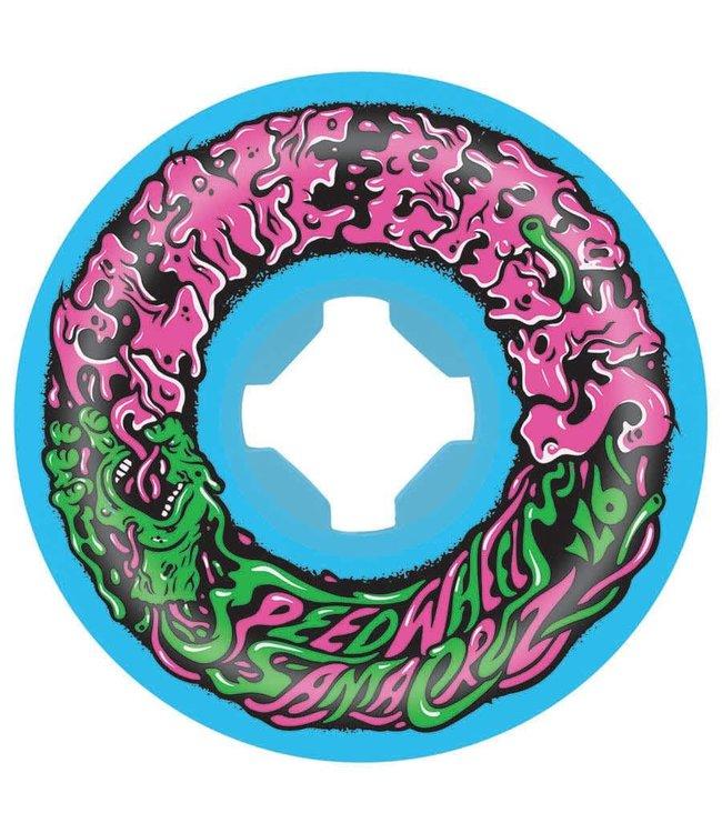 Slime Balls Vomit wheels , Mini Neon Blue , 53
