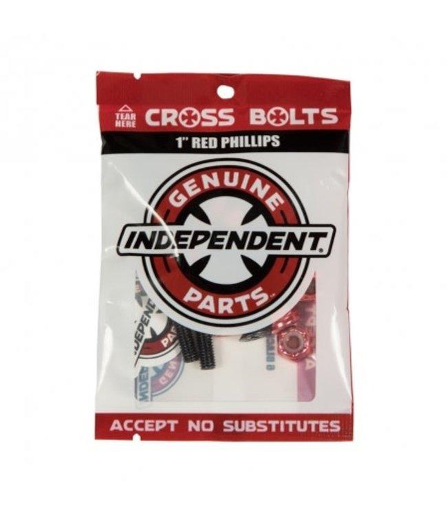 "Independent Genuine Parts Phillips Hardware 1"" Black/Red"