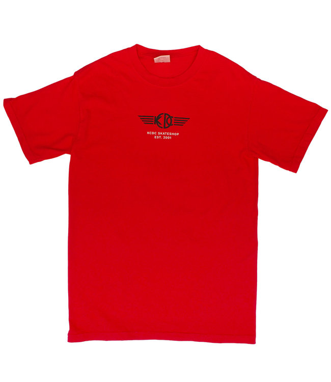 KCDC Shop Tee Red