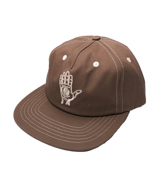 Theories Theories HAND OF THEORIES Strapback Brown Contrast Stich