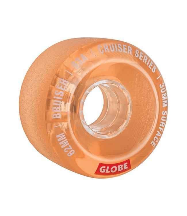 Globe Bruiser Wheels  Clear Coral 62