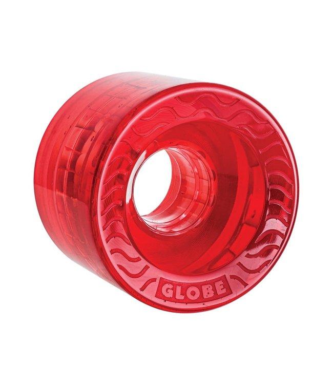 Globe Retro Flex Cruiser Wheel Clear/Red 58