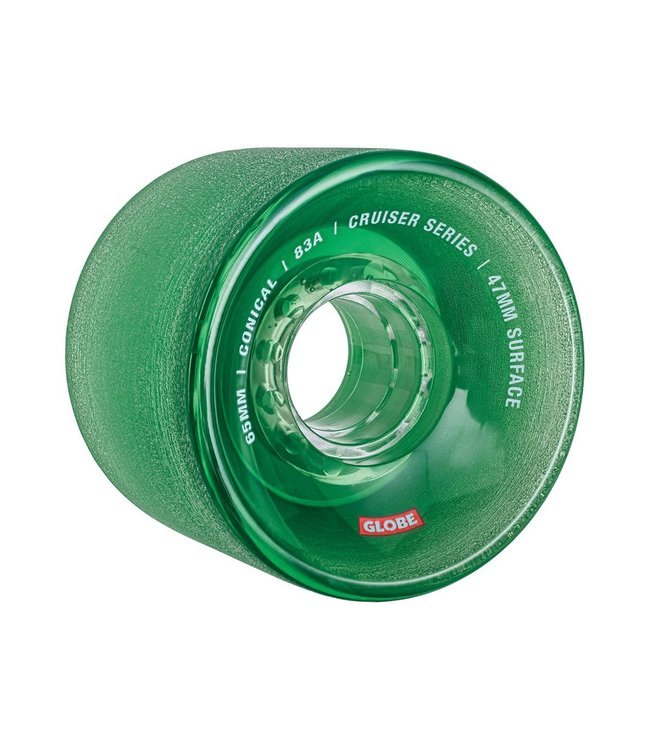 Globe Conical Cruiser Wheel Clear Forest 65